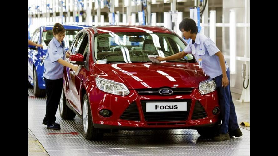 Ford Focus: O carro mais vendido do mundo no primeiro semestre de 2012