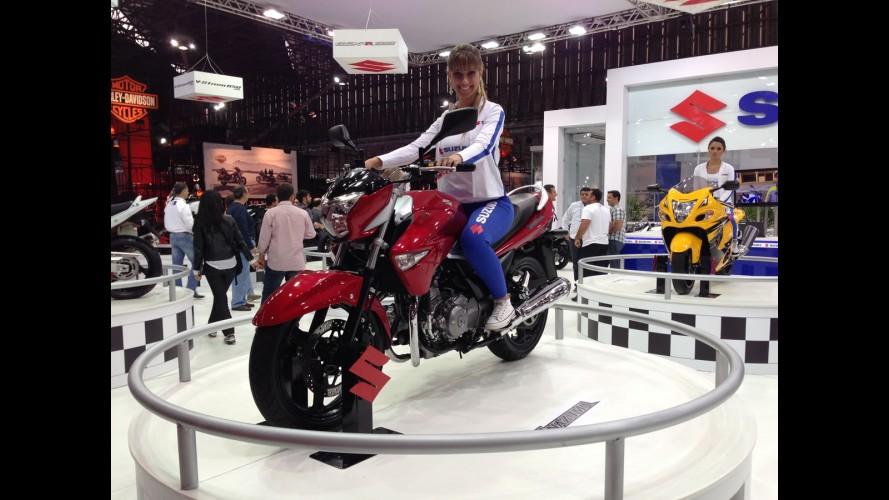 Salão Duas Rodas: Suzuki e Kawasaki mostram estrelas solitárias