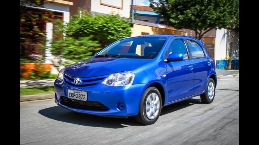 Toyota libera venda do Etios para frotistas e taxistas