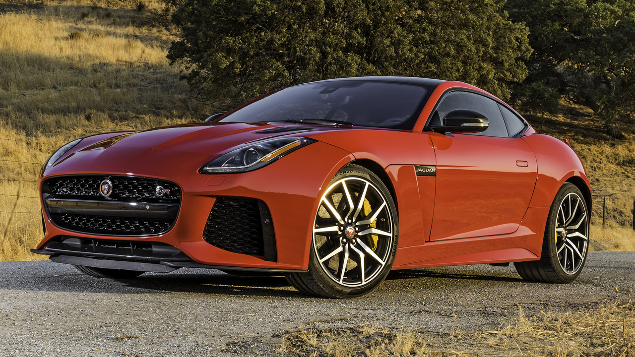 2017 Jaguar F-Type SVR: First Drive