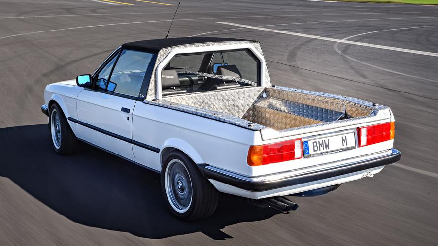 BMW shows off E30 and E92 M3 pickups, E36 M3 Compact, E46 M3 Touring