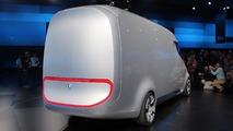Mercedes-Benz Vision Van Konsepti: Canlı