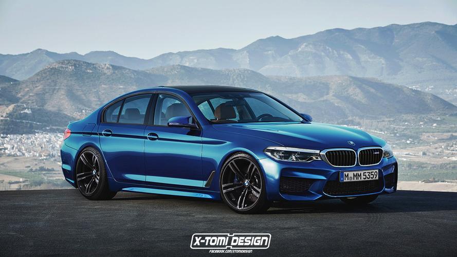 2017 BMW 5 Serisinin M5 ve Touring tasarım yorumları yapıldı