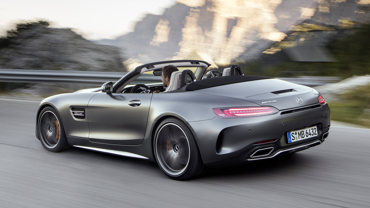 C63 Amg Coupe 2018 >> Mercedes-AMG GT Roadster revealed ahead of Paris debut