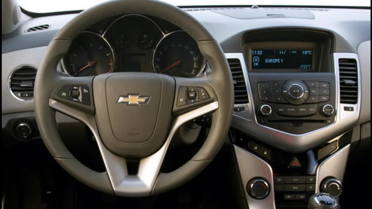 Chevrolet Cruze Station Wagon é flagrada na Índia - Será que vem ao Brasil?