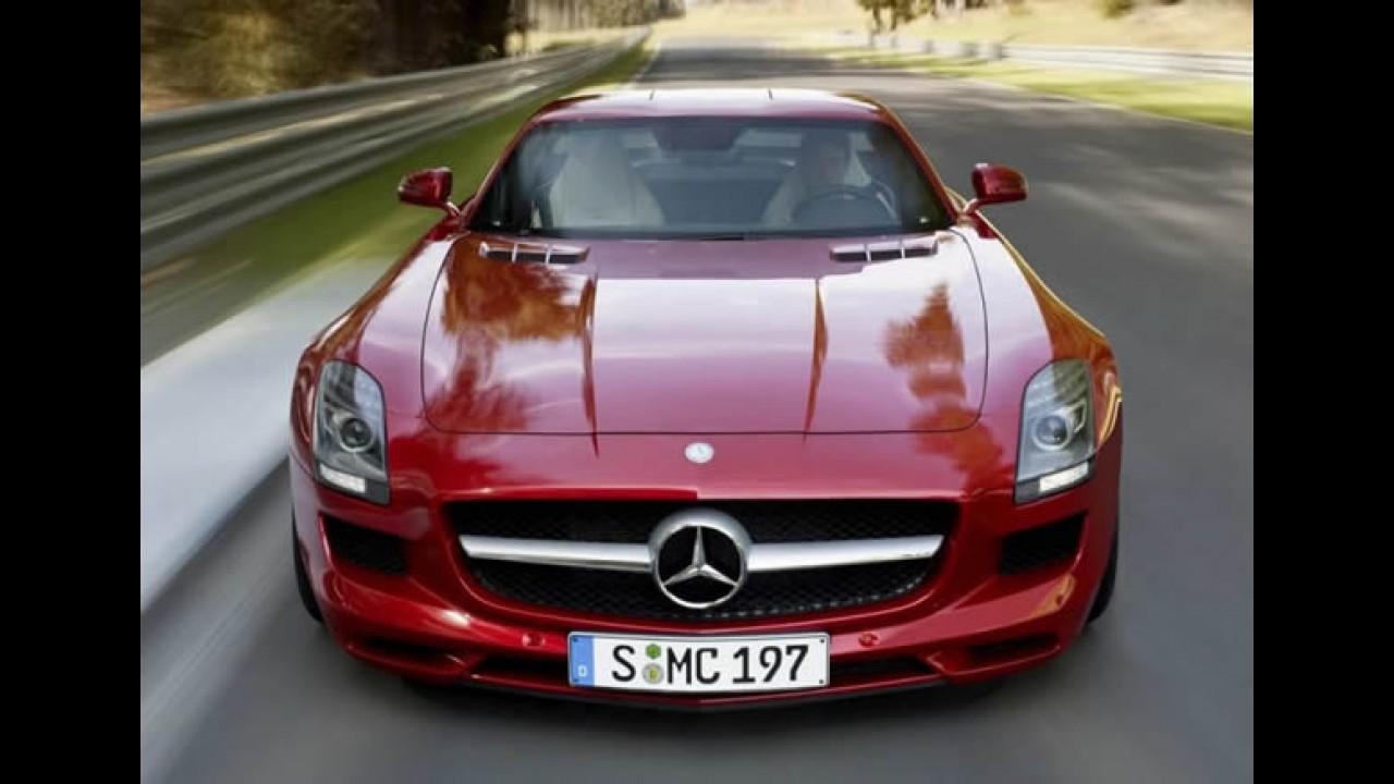 Fotos oficiais do Novo Mercedes-Benz SLS AMG