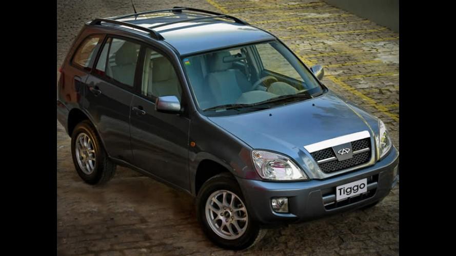 Revista faz comparativo entre Chery Tiggo e Ford Ecosport - Chinês leva vantagem