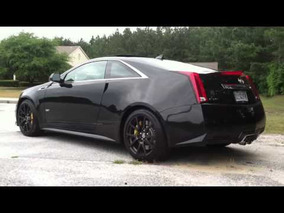 2011 CTS-V Black Diamond Edition with Corsa Sport exhaust