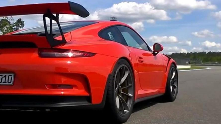 Porsche 911 GT3 RS put through its paces at Hockenheim [onboard video]