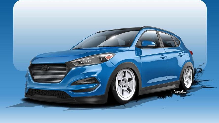 Hyundai teases a 700+ bhp Tucson for SEMA