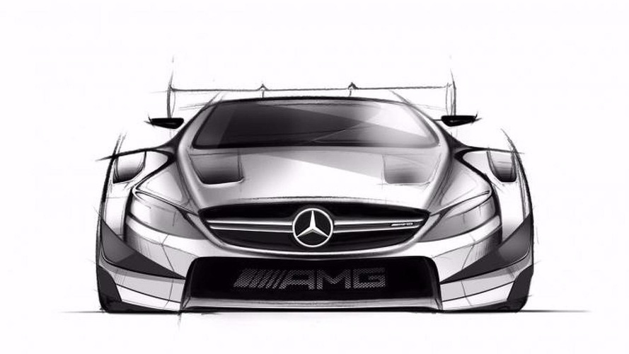 Mercedes reveals 2016 DTM C-Class sketches