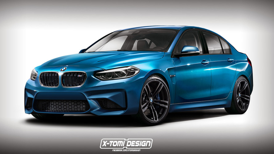 BMW M1 Sedan rendered just for fun