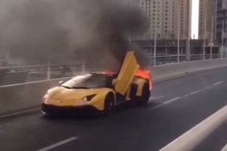 This Lamborghini Aventador SV Celebrated Labor Day With a BBQ