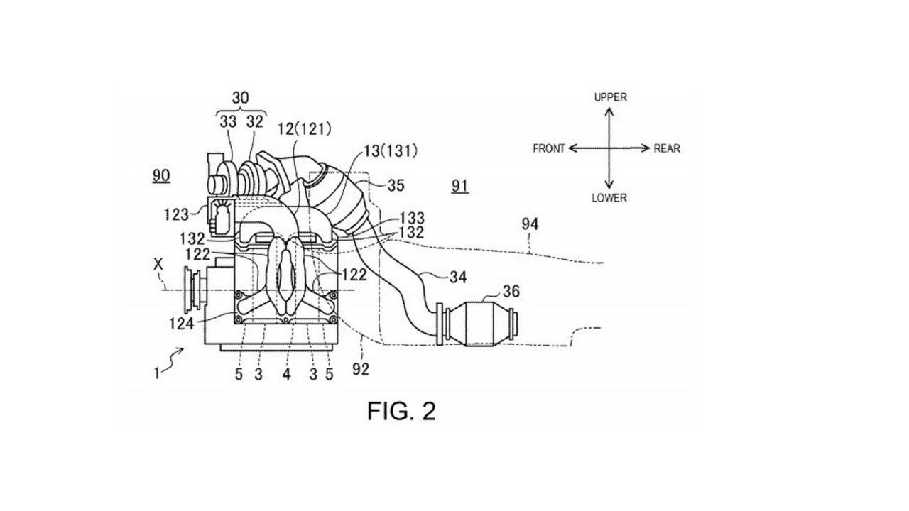 Mazda rotary engine patent