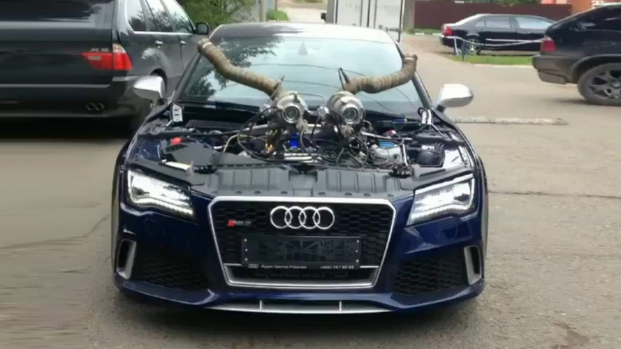 Audi RS7 with 1,200 hp could tempt the devil
