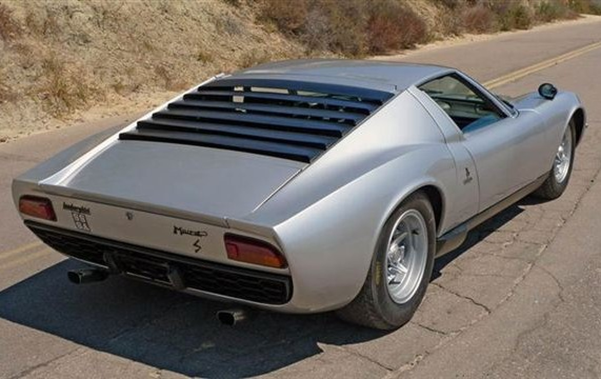 "eBay Car of the Week: ""Ultra-Original"" 1969 Lamborghini Miura S"