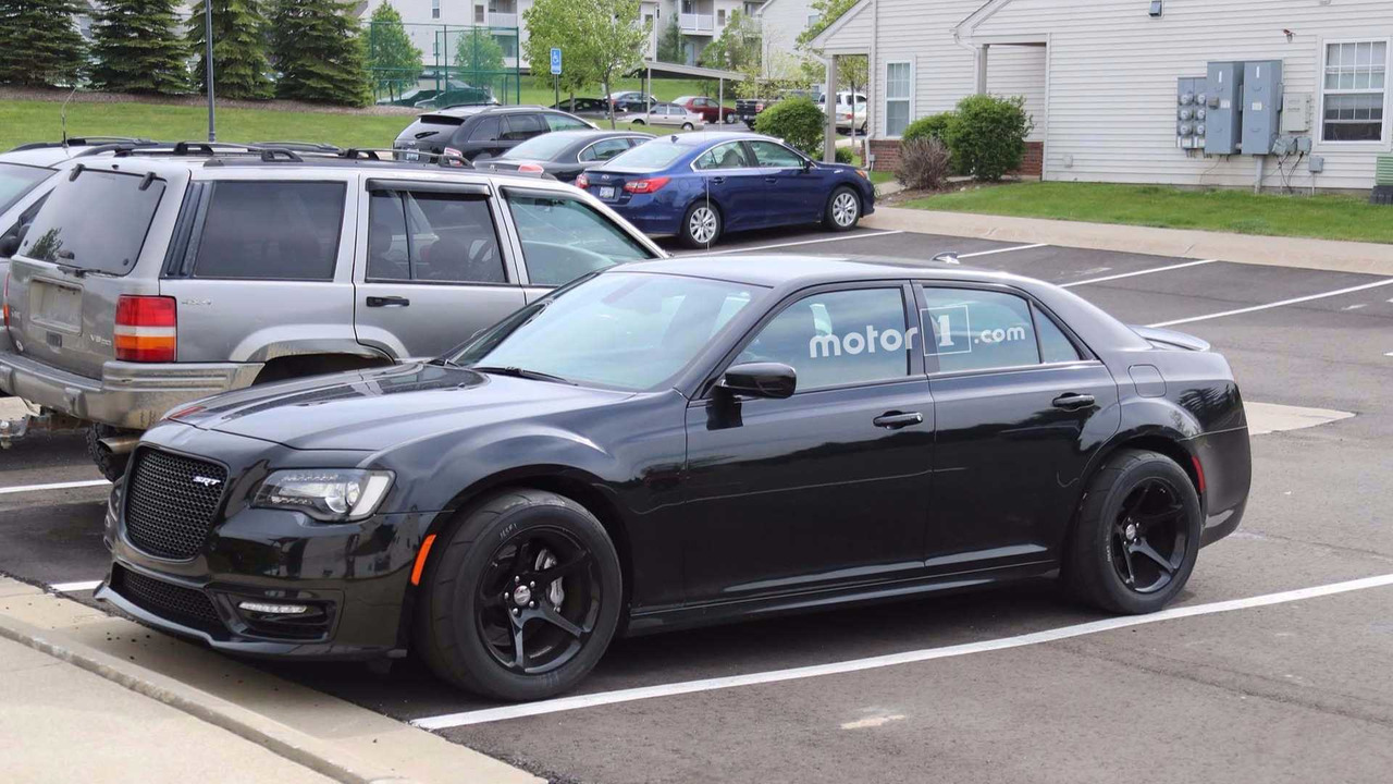 Chrysler 300srt >> Hellcat-powered Chrysler 300 SRT with Dodge Demon drag radials spied! | For C Bodies Only ...