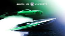 Cigarette Racing'in Mercedes-AMG GT R'dan esinlenen teknesi