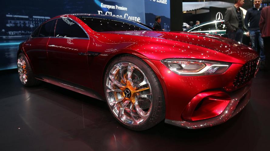 Mercedes-AMG GT Concept - 815 ch pour emmener toute la famille