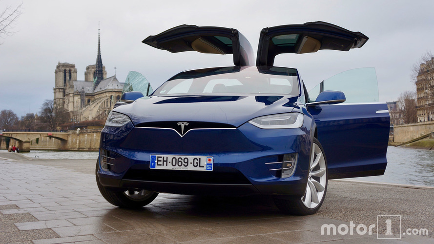 Tesla Model X 90D: un coche eléctrico con 'alas'