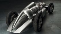 Auto Union Silver Arrow race car