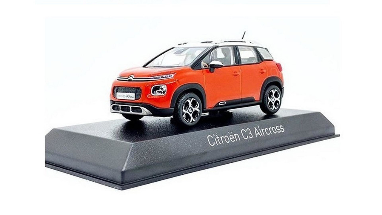 Citroen C3 Aircross scale model