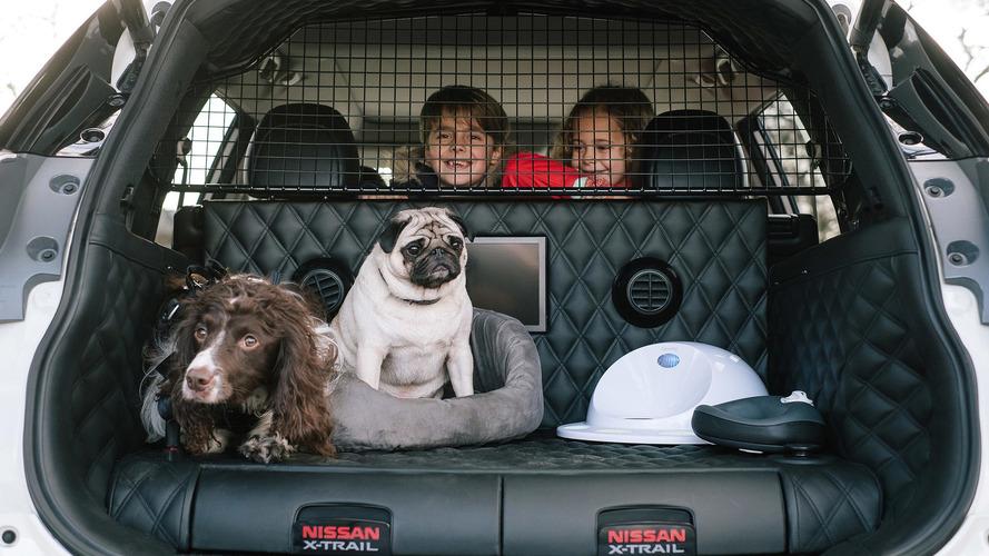 VIDÉO - Nissan X-Trail 4Dogs : conçu pour les chiens