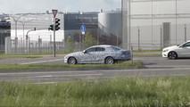 2018 Mercedes CLS prototipi bozuldu
