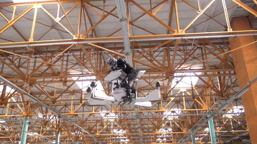 Empresa russa anuncia criação de revolucionária moto drone