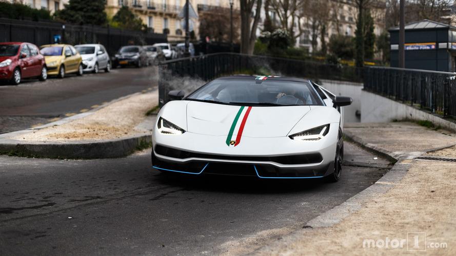 KVC - Lamborghini Centenario à Paris