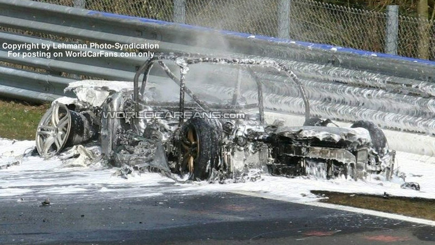 Why the Audi RS8 Burned