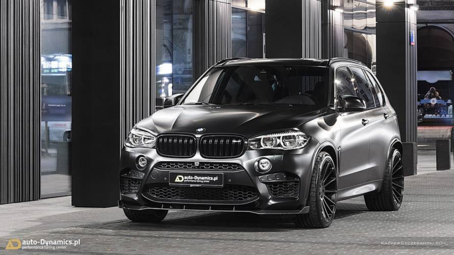 BMW X5 M Avalanche Is A Mobbed-Up SUV With 670 Horsepower