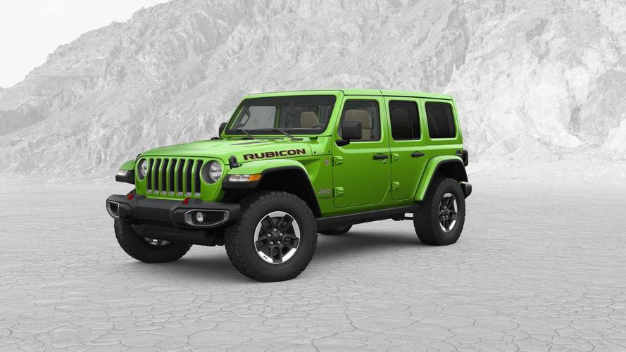 2018 Jeep Wrangler Configurator