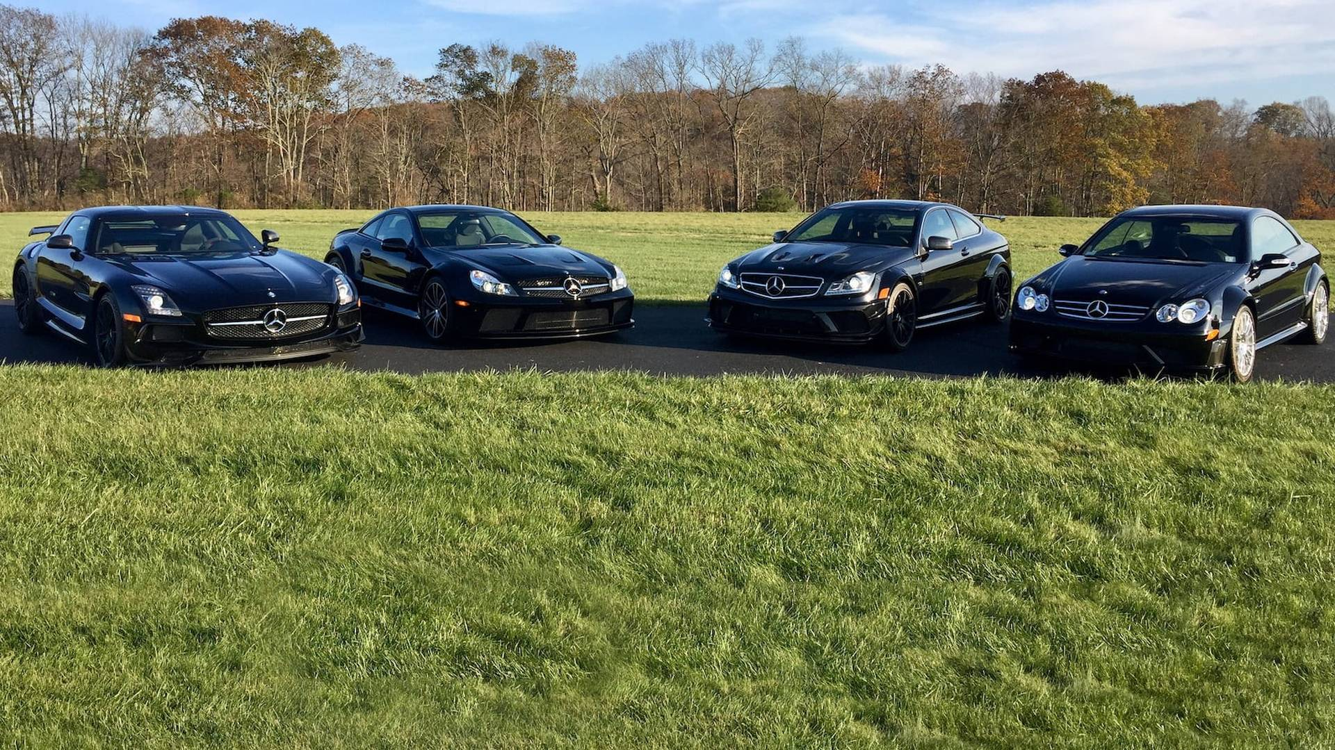 Fantastic Mercedes Black Series Collection Looking For New Home