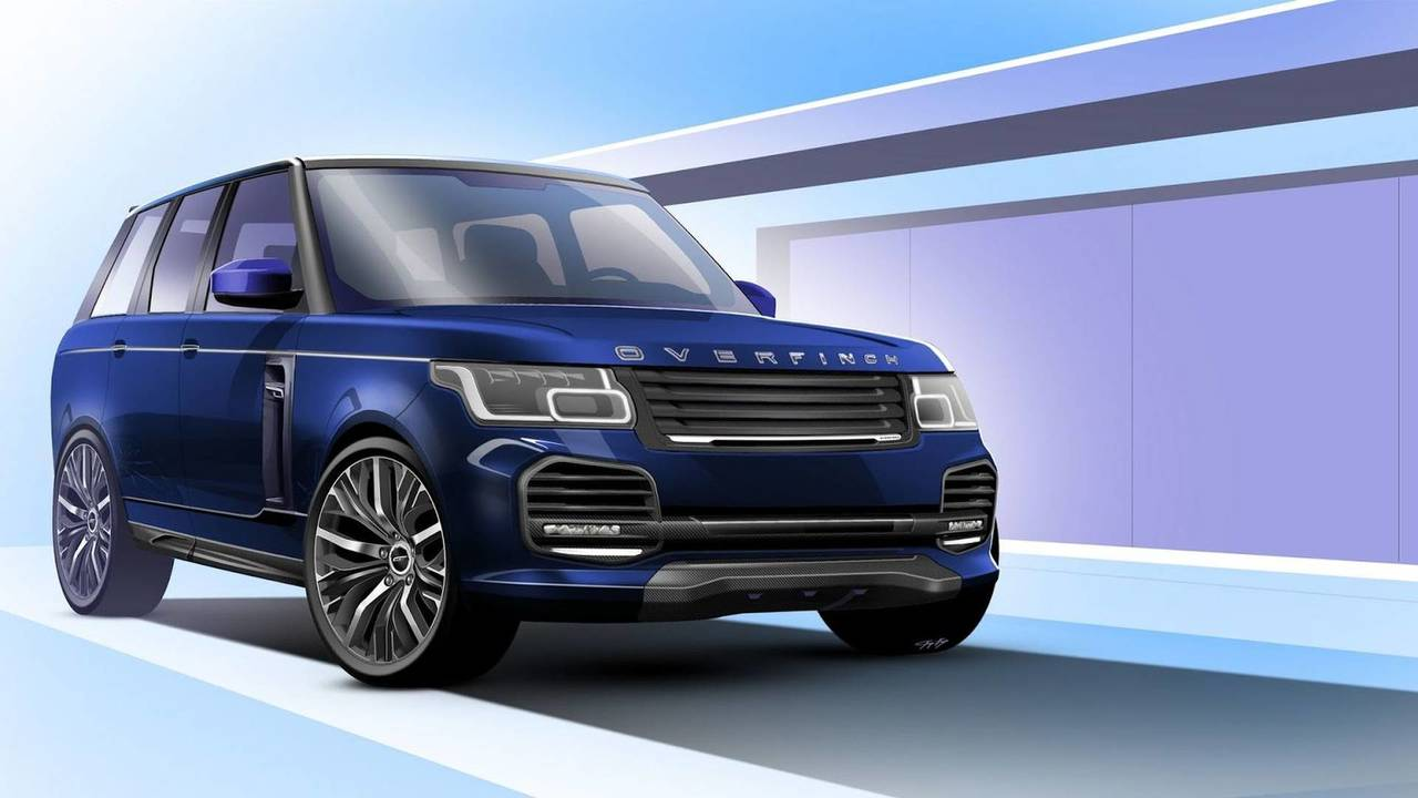 2018 Range Rover by Overfinch
