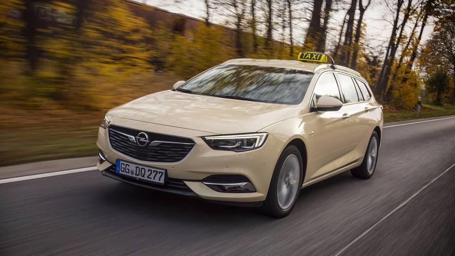 El Opel Insignia Sports Tourer 2018 se pasa al taxi