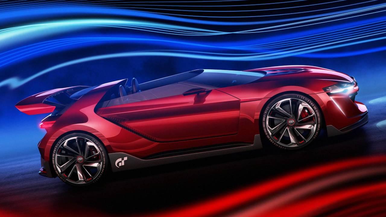 2014 VW Golf Roadster Vision Gran Turismo konsepti