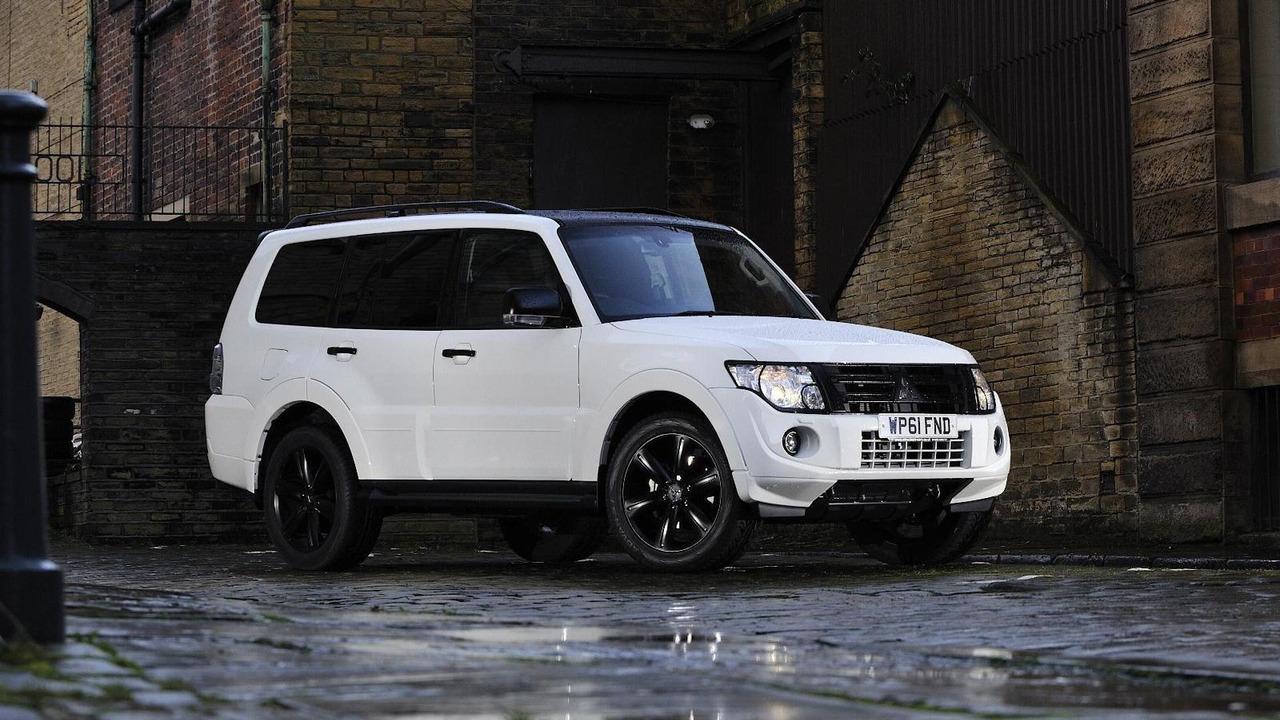 Mitsubishi Shogun Black edition 03.01.2012