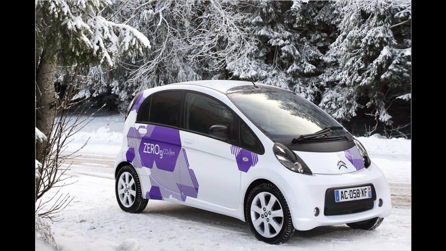Elektroautos: Im Winter nur die halbe Reichweite
