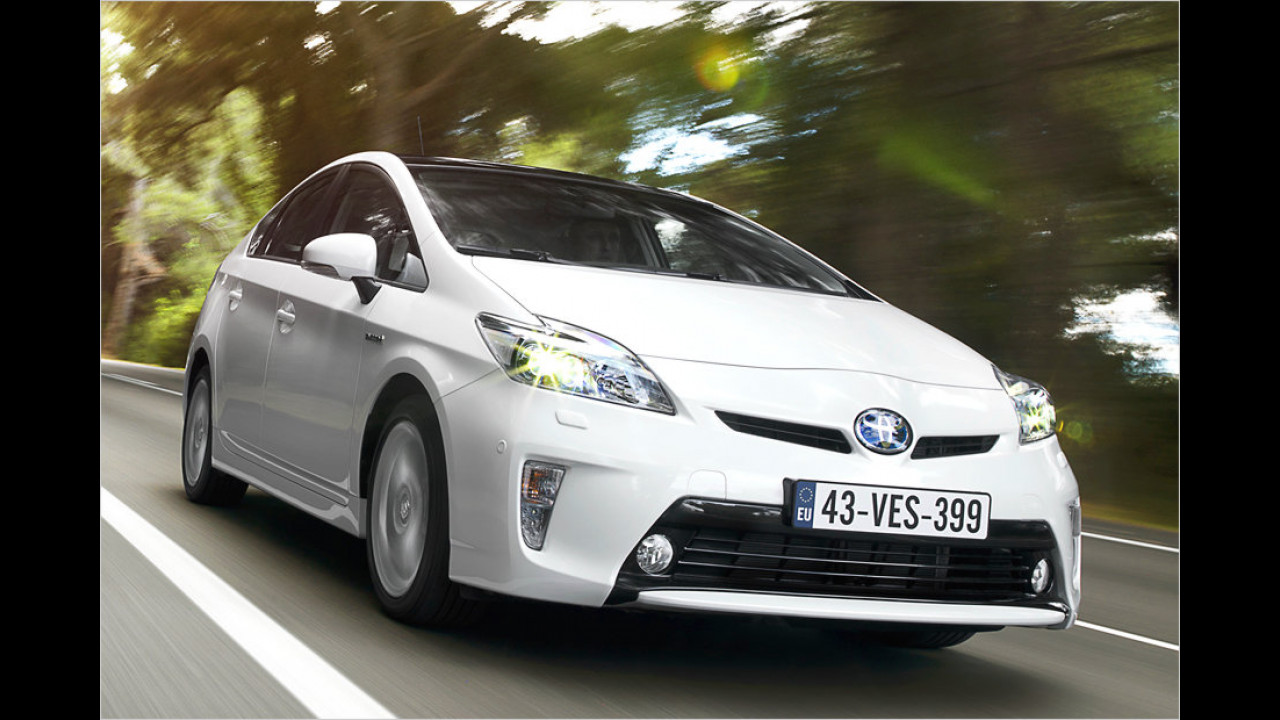 Platz 15: Toyota Prius