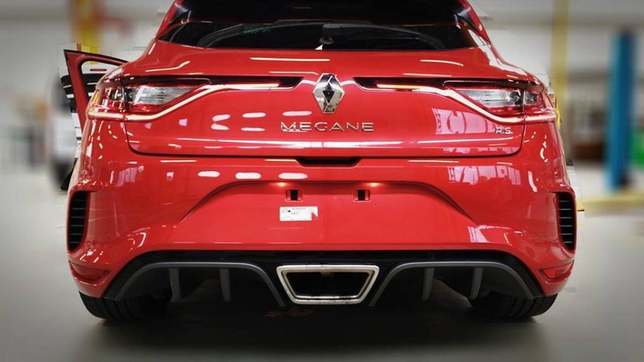 2018 Renault Megane RS kamuflajsız