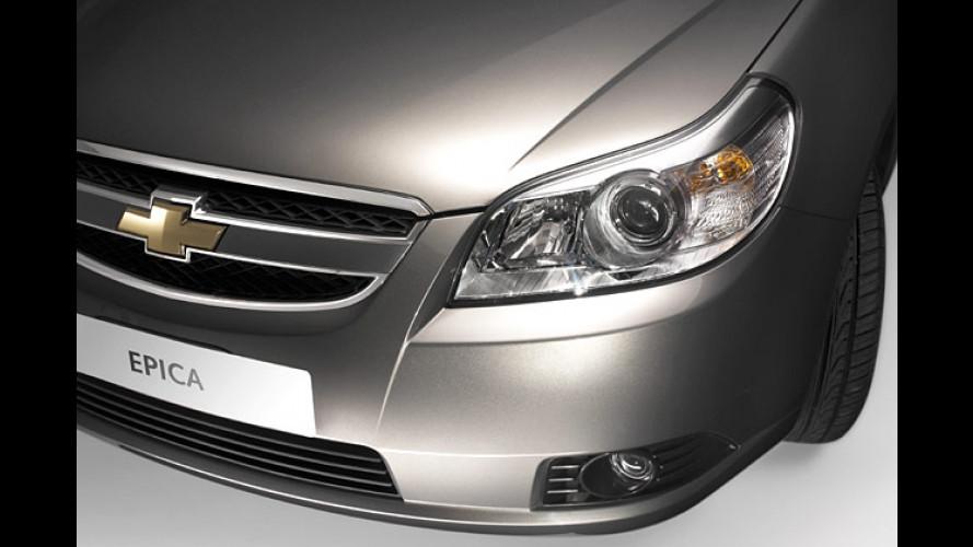 Chevrolet Epica: Evanda-Nachfolger kommt im Juli 2006