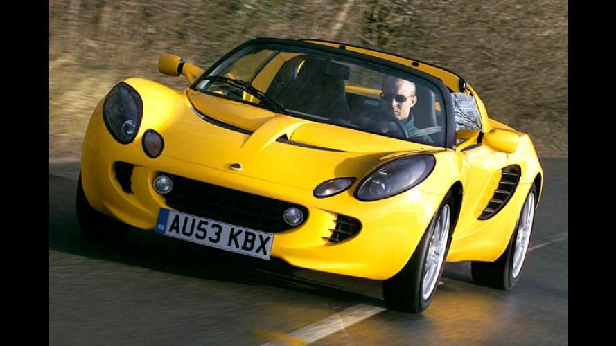 Lotus Elise 111R: Die stärkste und schnellste Serien-Elise