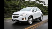 Chevrolet convoca quase 8 mil unidades do Tracker para reparar falha nos freios