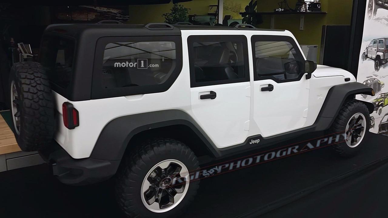 this rejected next gen jeep wrangler design may be hiding a secret. Black Bedroom Furniture Sets. Home Design Ideas