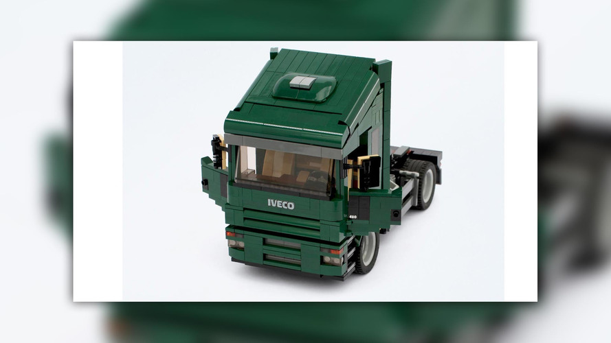 Iveco Truck Lego