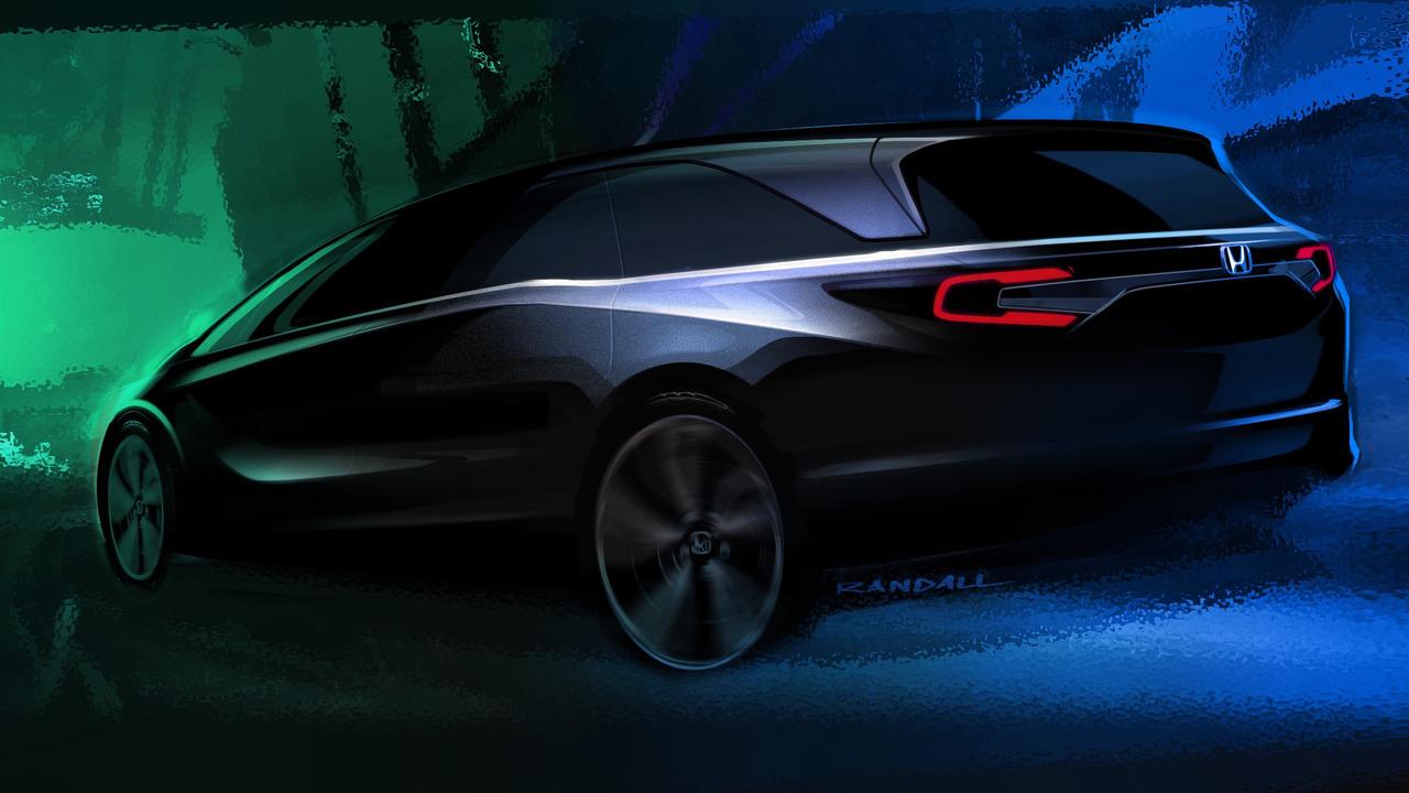2018 Honda Odyssey teaser