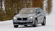 BMW X2 Spy Shots in WInter