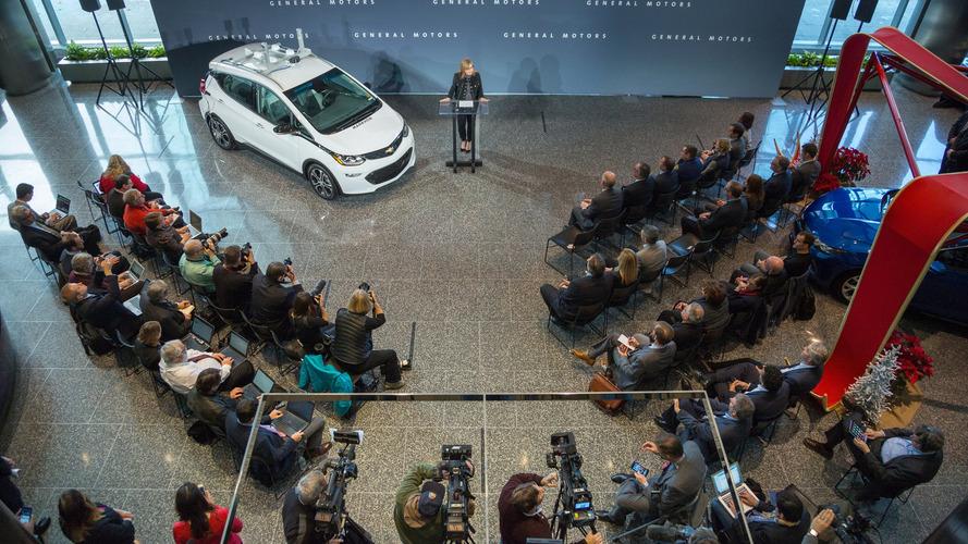 Chevy Bolt autonomous test car