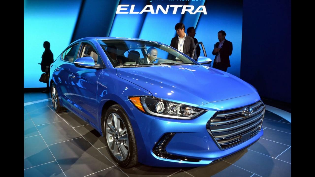 Hyundai Elantra Sport: versão de 200 cv é flagrada antes da estreia